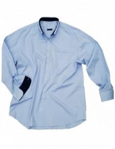 Profilo Moda Camicia manica lunga NAVA taglie forti uomo