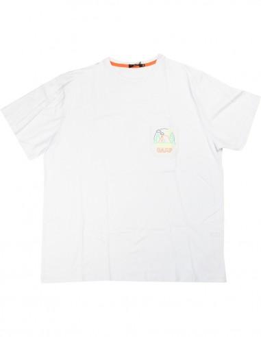 Maxfort T-shirt E9227 taglie forti uomo
