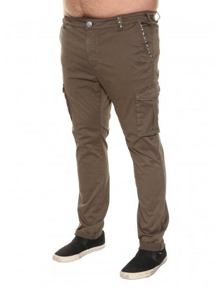 Maxfort Pantalone estivo E9212 PROMO taglie forti uomo. Sconto 30%