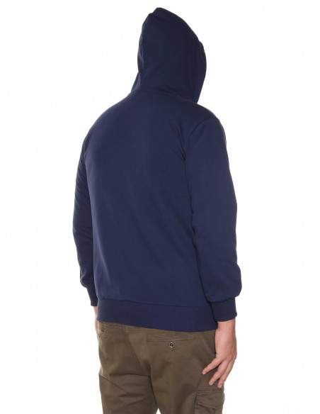 Maxfort Felpa zip con cappuccio E9256 PROMO taglie forti uomo. Sconto 30%