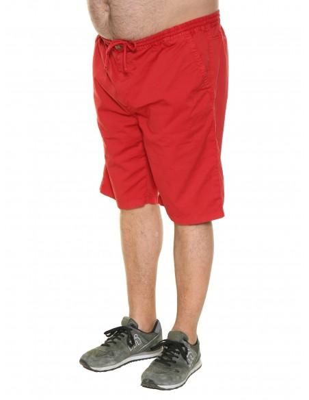 Maxfort taglie forti uomo Pantalone corto con elastico MALVA