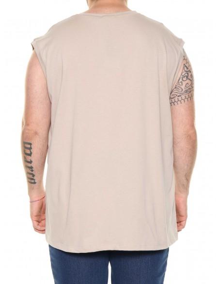 Maxfort T-shirt canottiera senza maniche 31438 PROMO taglie forti uomo. Sconto 30%