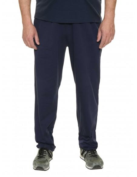 Maxfort taglie forti uomo Pantalone tuta con coulisse 100% cotone garzato ZAGABRIA