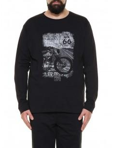 Maxfort T-shirt maniche lunghe ME7022 PROMO taglie forti uomo. Sconto 30%