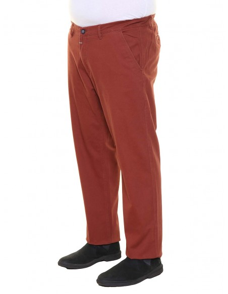 Maxfort taglie forti uomo Pantalone chino ME7008