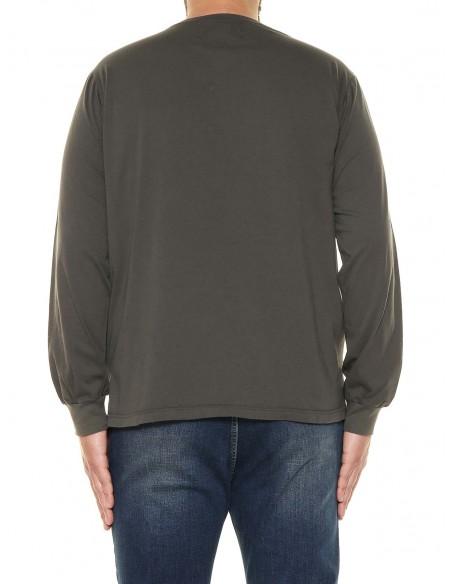 Maxfort T-shirt maniche lunghe 32550 PROMO taglie forti uomo. Sconto 30%