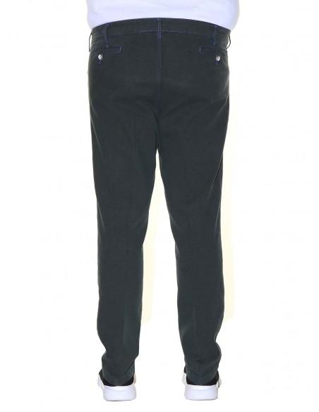 Maxfort Pantalone stretch 5 tasche CASHMERE PROMO taglie forti uomo. Sconto 30%